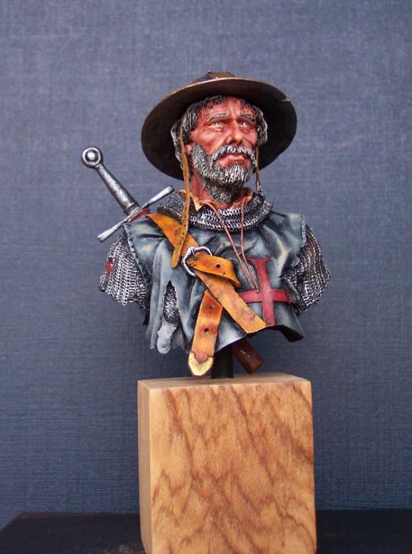 After the Battle, Büste von Andrea Miniatures in 1/10 fertig Fertig14