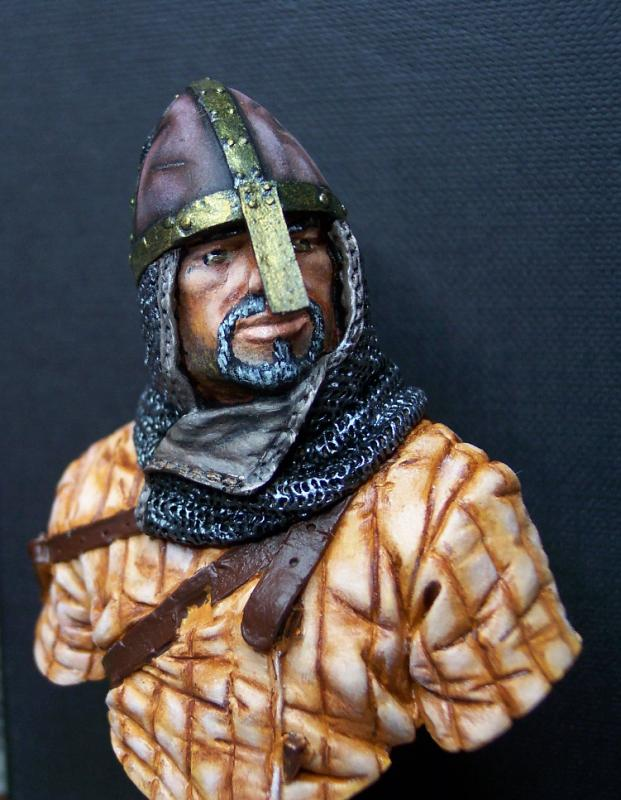 Young Miniatures Büste 1/10 Norman Knight Hastings 1066  Kopf0110