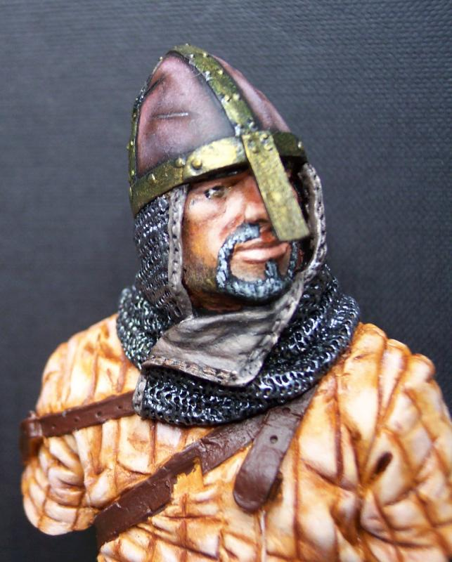 Young Miniatures Büste 1/10 Norman Knight Hastings 1066  Kopf0210