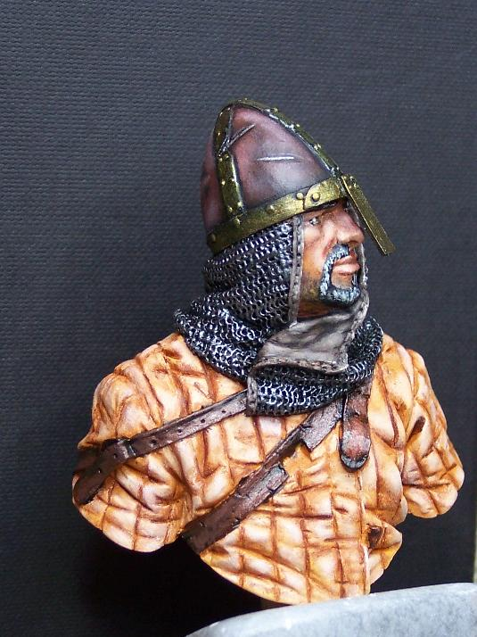 Young Miniatures Büste 1/10 Norman Knight Hastings 1066  Kopf0211