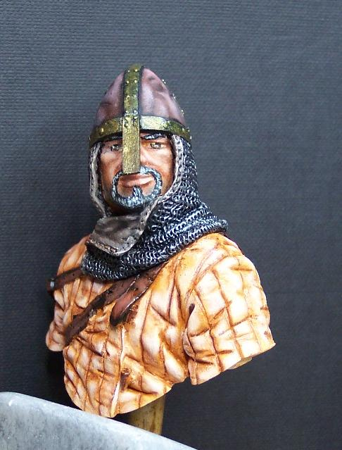 Young Miniatures Büste 1/10 Norman Knight Hastings 1066  Kopf0311
