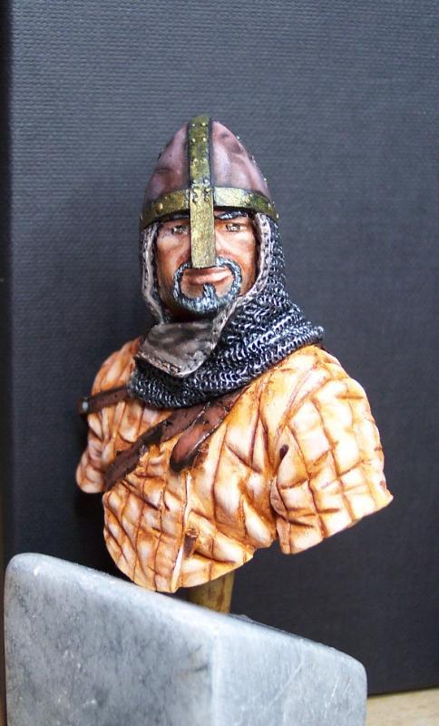 Young Miniatures Büste 1/10 Norman Knight Hastings 1066  Kopf0411