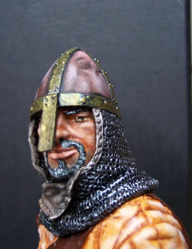 Young Miniatures Büste 1/10 Norman Knight Hastings 1066  Kopf0510