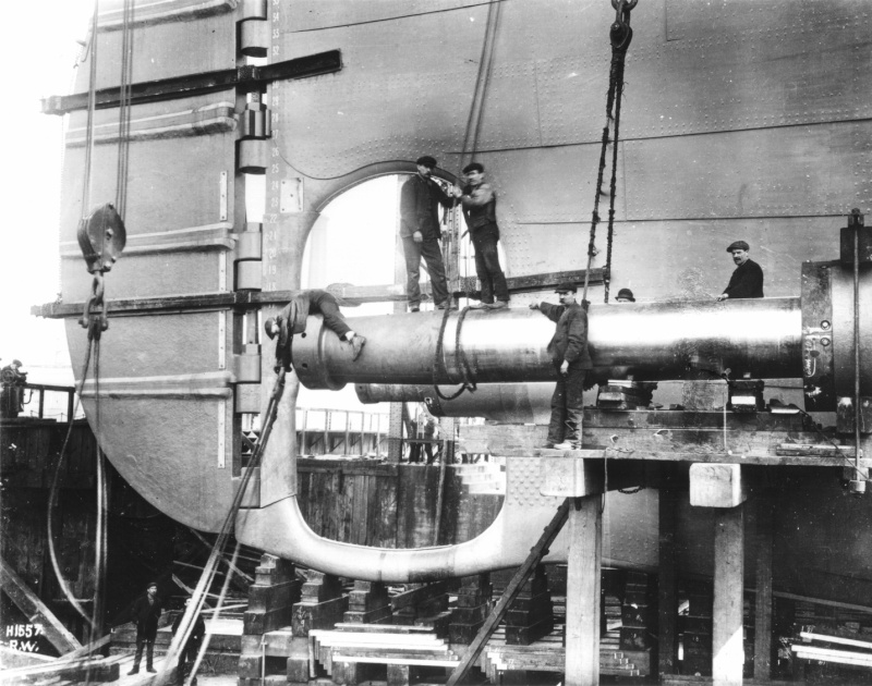 titanic - Titanic scala 1/144 di DELUX Titani10