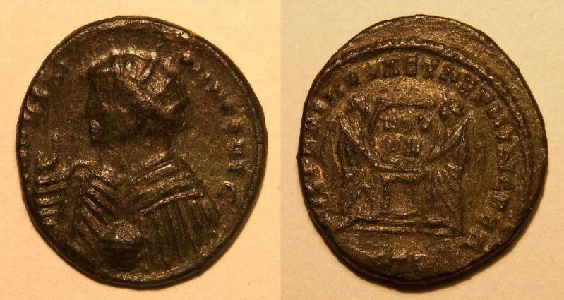 Pseudo-argenteus non publié de Maximin II Daïa frappé à Trèves (hybride ?) 7e208f10