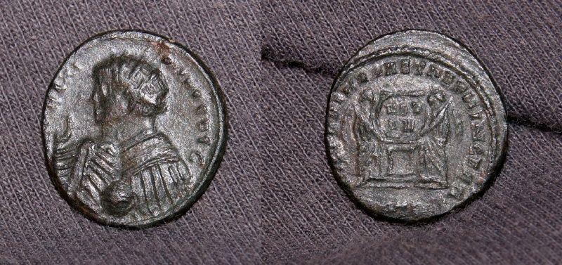 Pseudo-argenteus non publié de Maximin II Daïa frappé à Trèves (hybride ?) Maximi11