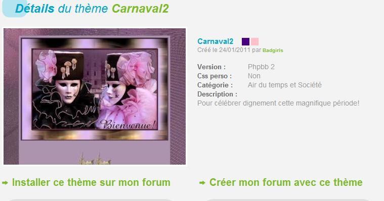 THÈMES CARNAVAL Carnav10