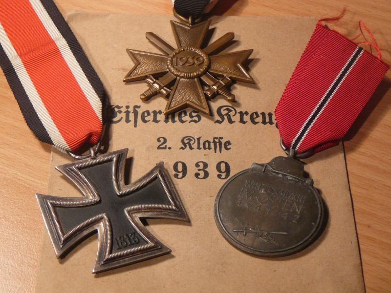 Vos décorations militaires, politiques, civiles allemandes de la ww2 P1200423