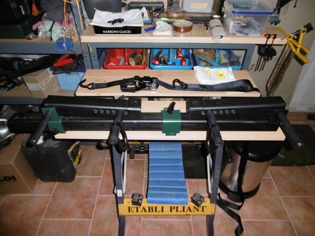 Fabrication d'une presse pour compound P1000010