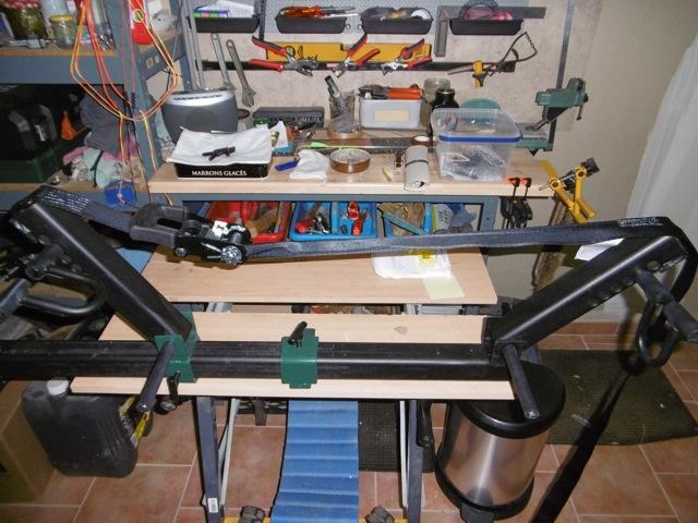 Fabrication d'une presse pour compound P1000012
