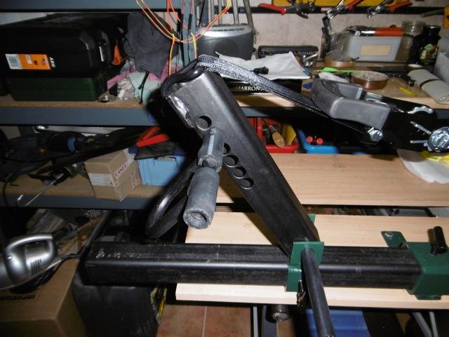 Fabrication d'une presse pour compound P1000013
