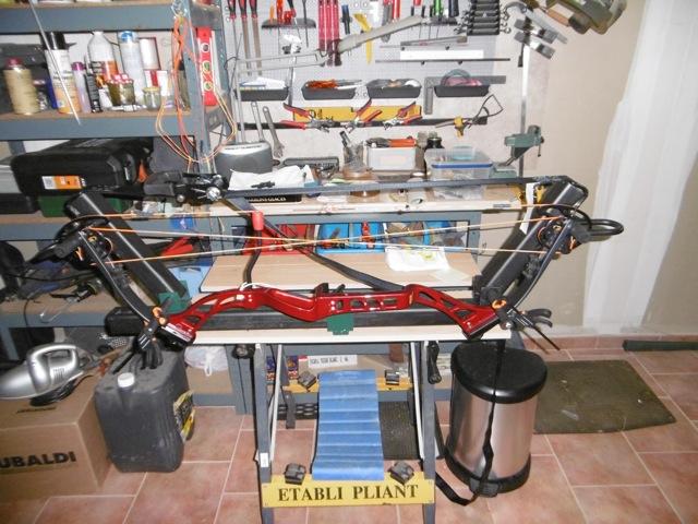 Fabrication d'une presse pour compound P1000016