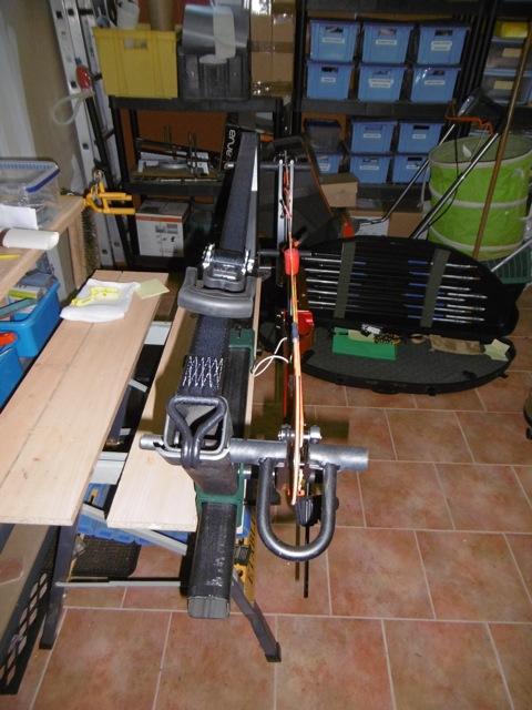 Fabrication d'une presse pour compound P1000017
