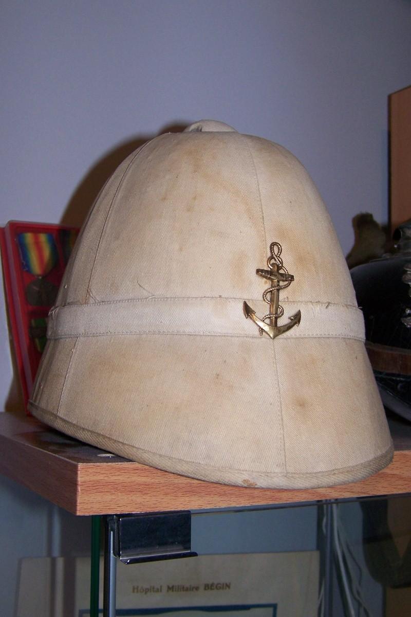 Casque colonial modèle 1886 100_9113