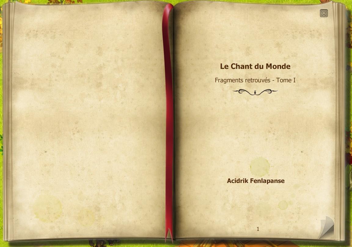 Fragments retrouvés - Tome I - Le Chant du Monde 1_110