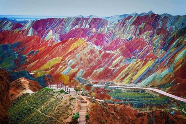 Rêver avec le réel, paysages Zhangy10