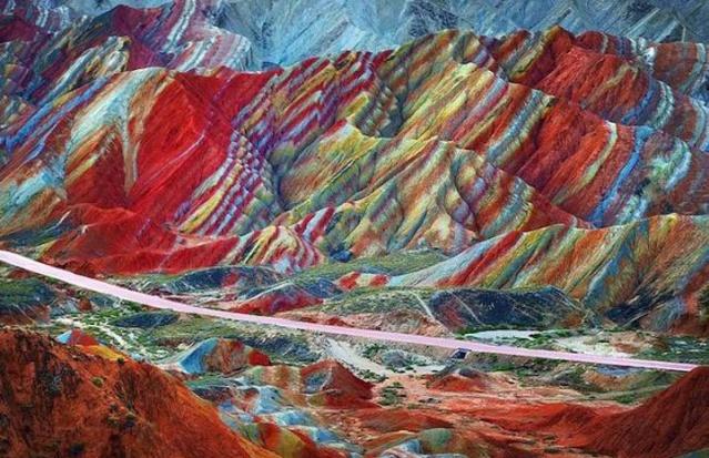 Rêver avec le réel, paysages Zhangy11