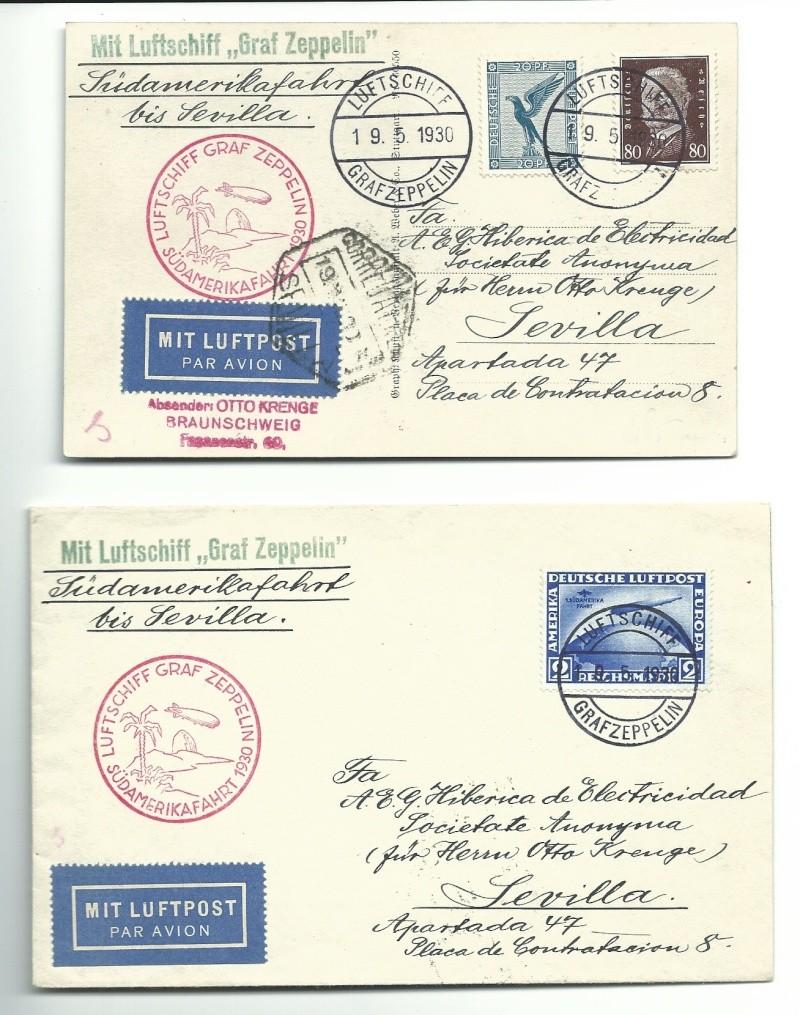 Südamerikafahrt 1930, Post nach Sevilla 57_a_k10