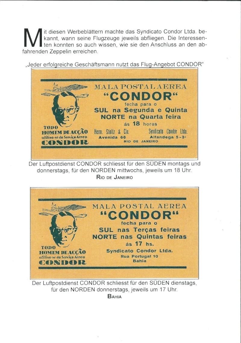 Condor-Flugpostmarken auf Belegen der Südamerikafahrt 1930 - Seite 2 Bestat15