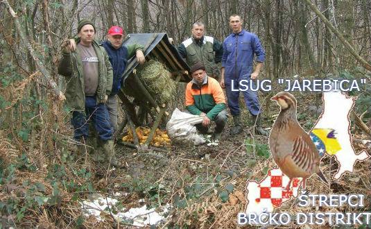 """Lovačko sportska udruga građana """"Jarebica"""" Štrepci 210"""