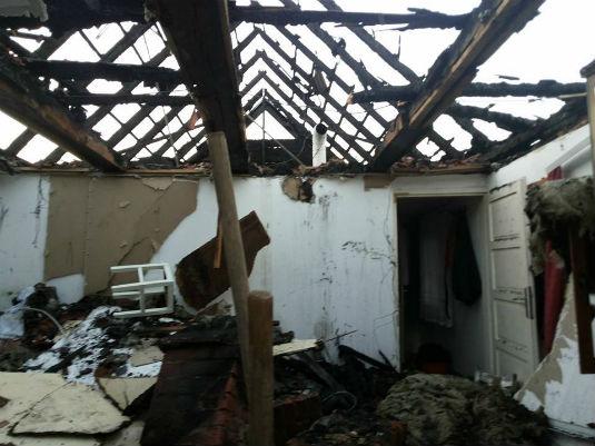 Požar na obiteljskoj kući u D. Zoviku 212
