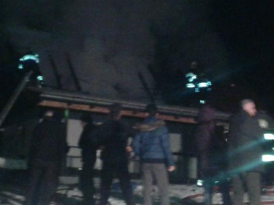 Požar na obiteljskoj kući u D. Zoviku 311