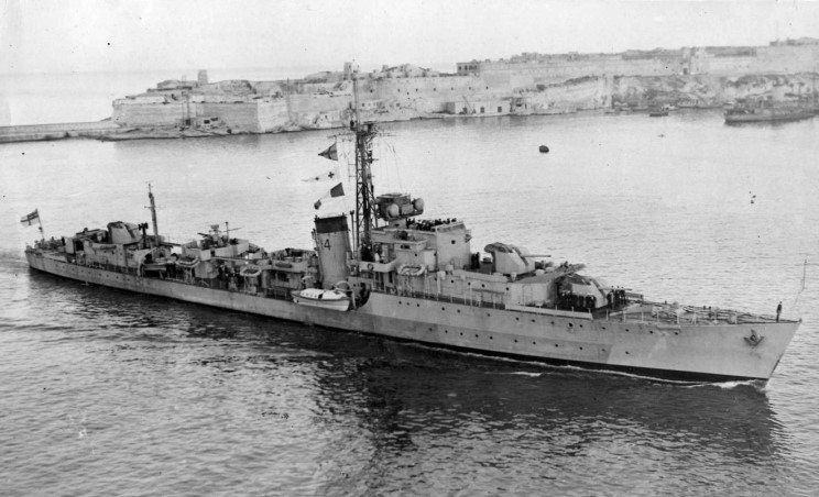 DESTROYER DE LA ROYAL NAVY : du CAESAR au DUCHESS 1945_m10