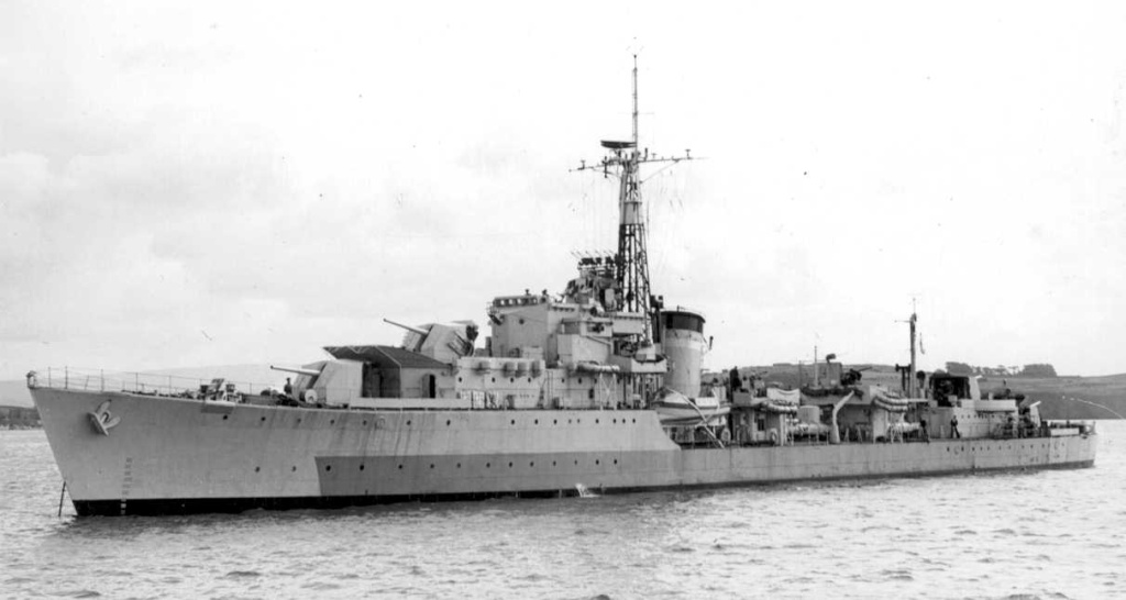 DESTROYER DE LA ROYAL NAVY : du CAESAR au DUCHESS Caesar10