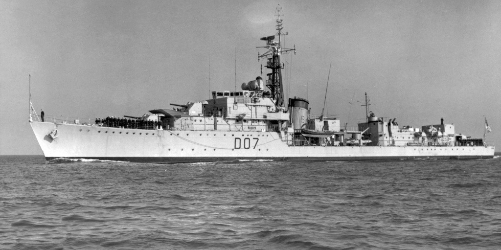 DESTROYER DE LA ROYAL NAVY : du CAESAR au DUCHESS Caesar11