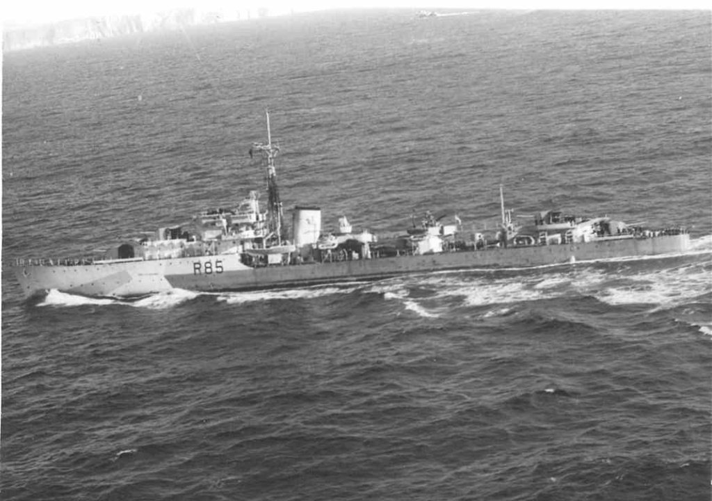 DESTROYER DE LA ROYAL NAVY : du CAESAR au DUCHESS Cambri10