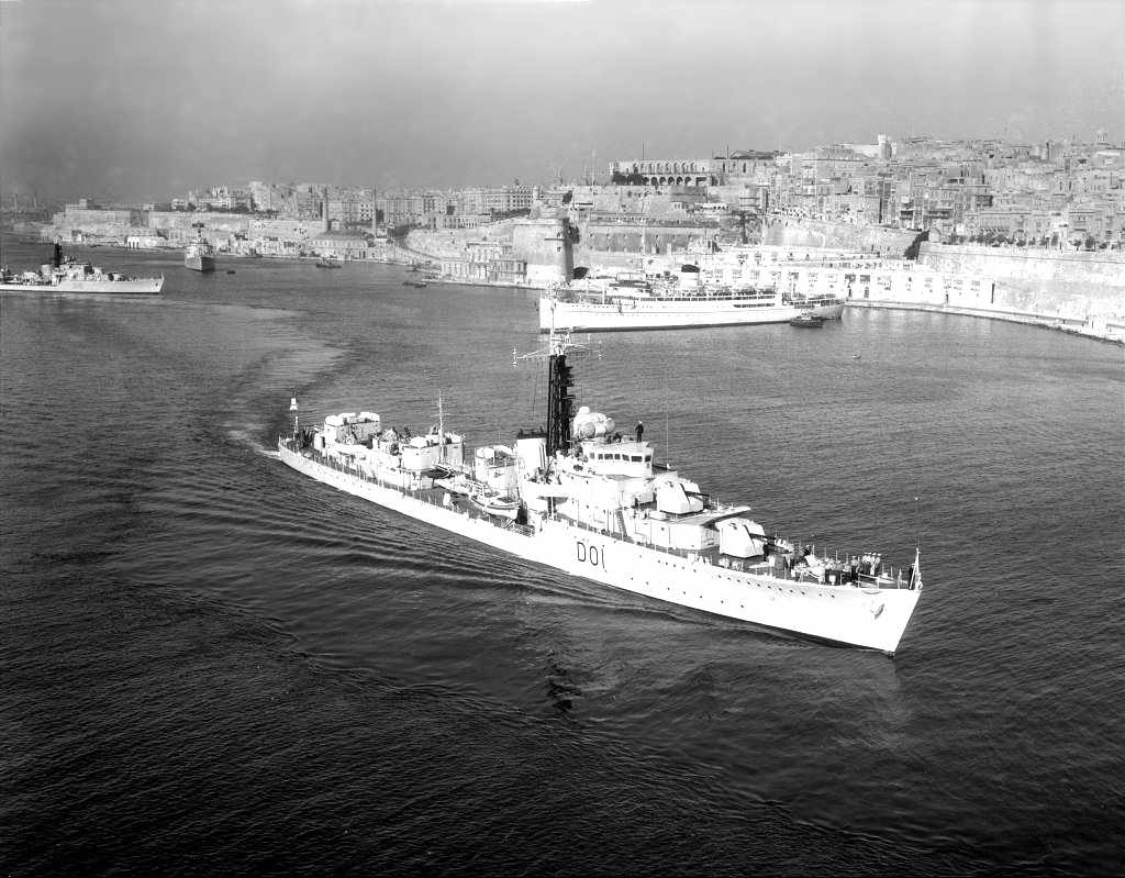 DESTROYER DE LA ROYAL NAVY : du CAESAR au DUCHESS Capric12