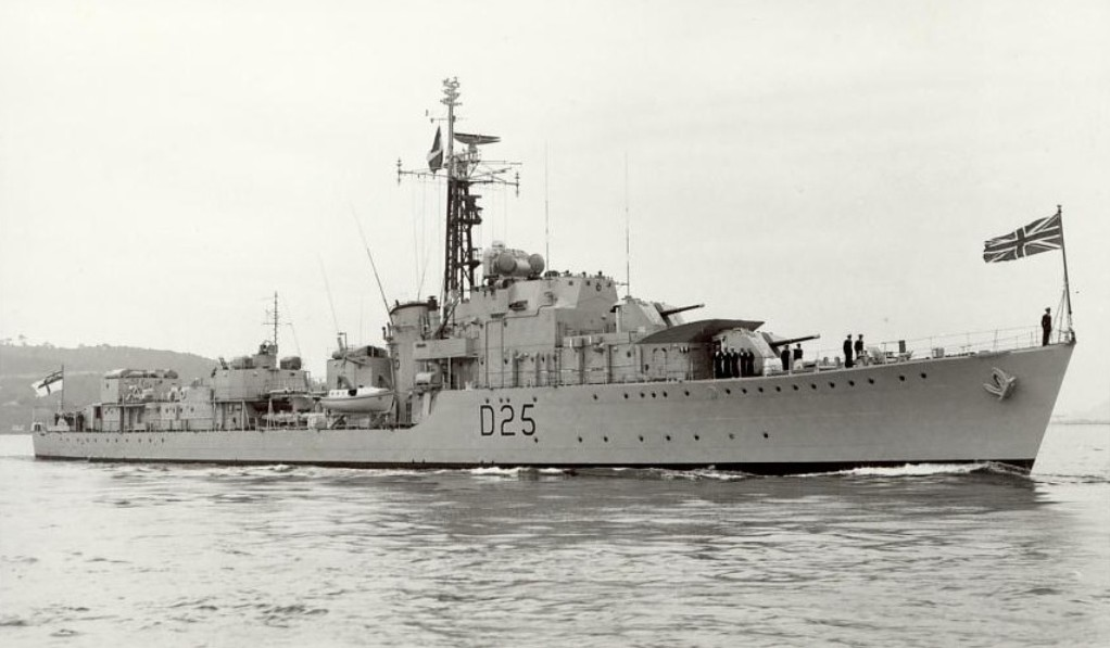 DESTROYER DE LA ROYAL NAVY : du CAESAR au DUCHESS Carysf10