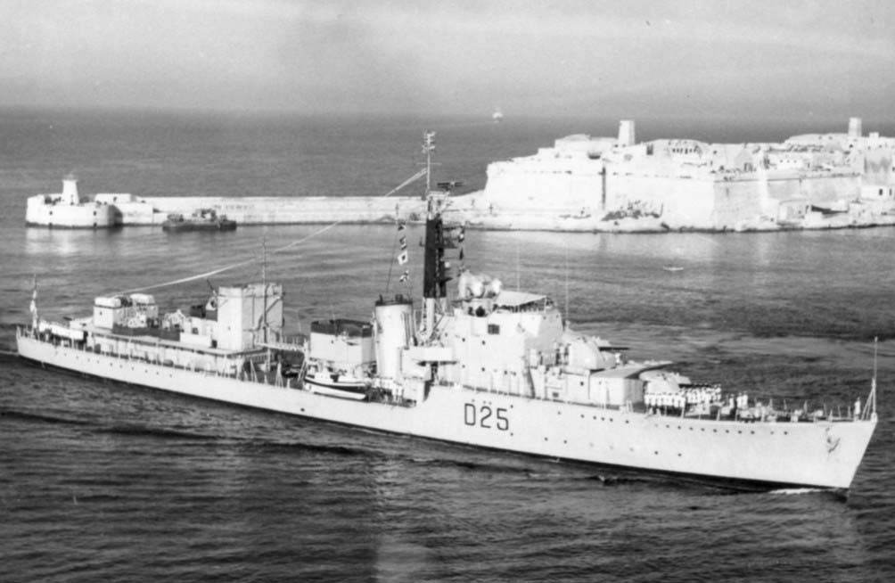DESTROYER DE LA ROYAL NAVY : du CAESAR au DUCHESS Carysf11