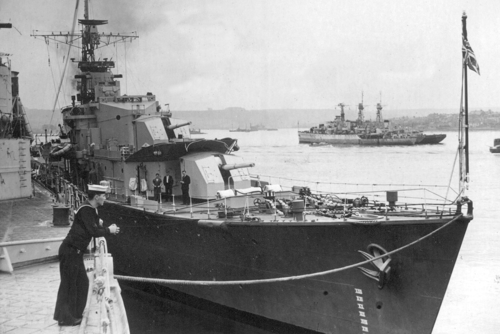 DESTROYER DE LA ROYAL NAVY : du CAESAR au DUCHESS Cassan11