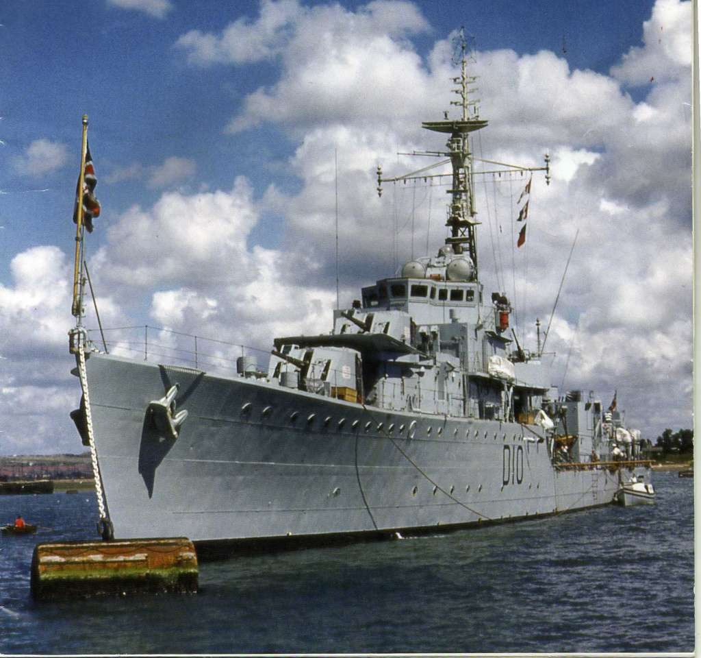 DESTROYER DE LA ROYAL NAVY : du CAESAR au DUCHESS Cassan12