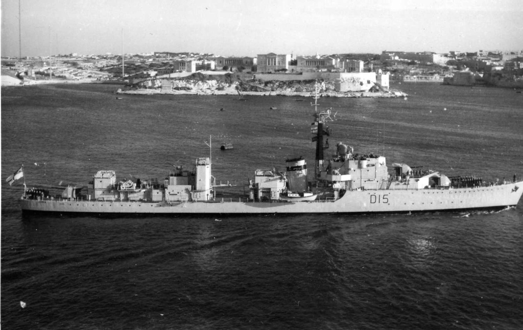DESTROYER DE LA ROYAL NAVY : du CAESAR au DUCHESS Cavend10