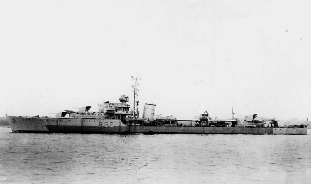 DESTROYER DE LA ROYAL NAVY : du CAESAR au DUCHESS Chaple10
