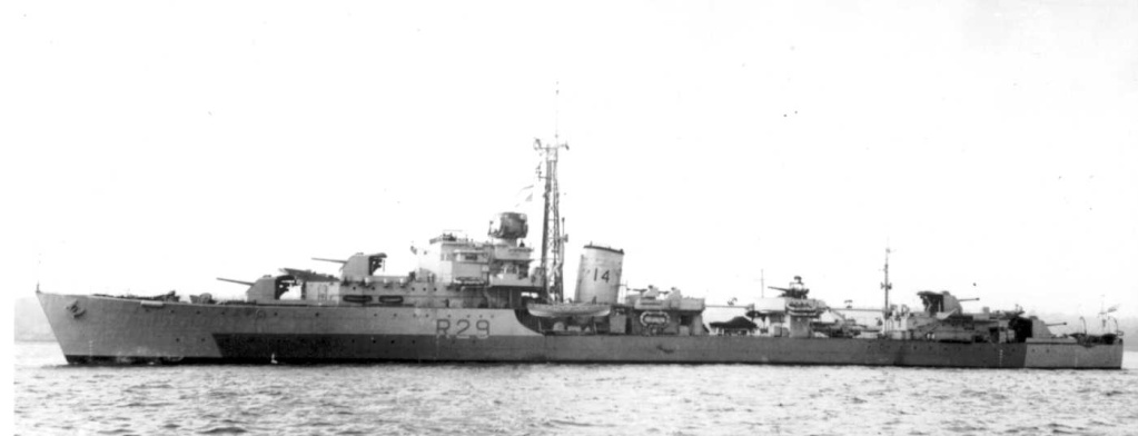 DESTROYER DE LA ROYAL NAVY : du CAESAR au DUCHESS Charit10