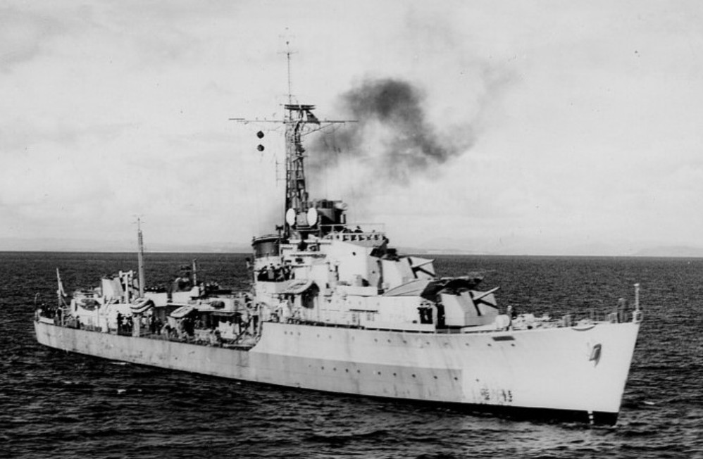 DESTROYER DE LA ROYAL NAVY : du CAESAR au DUCHESS Cheque11