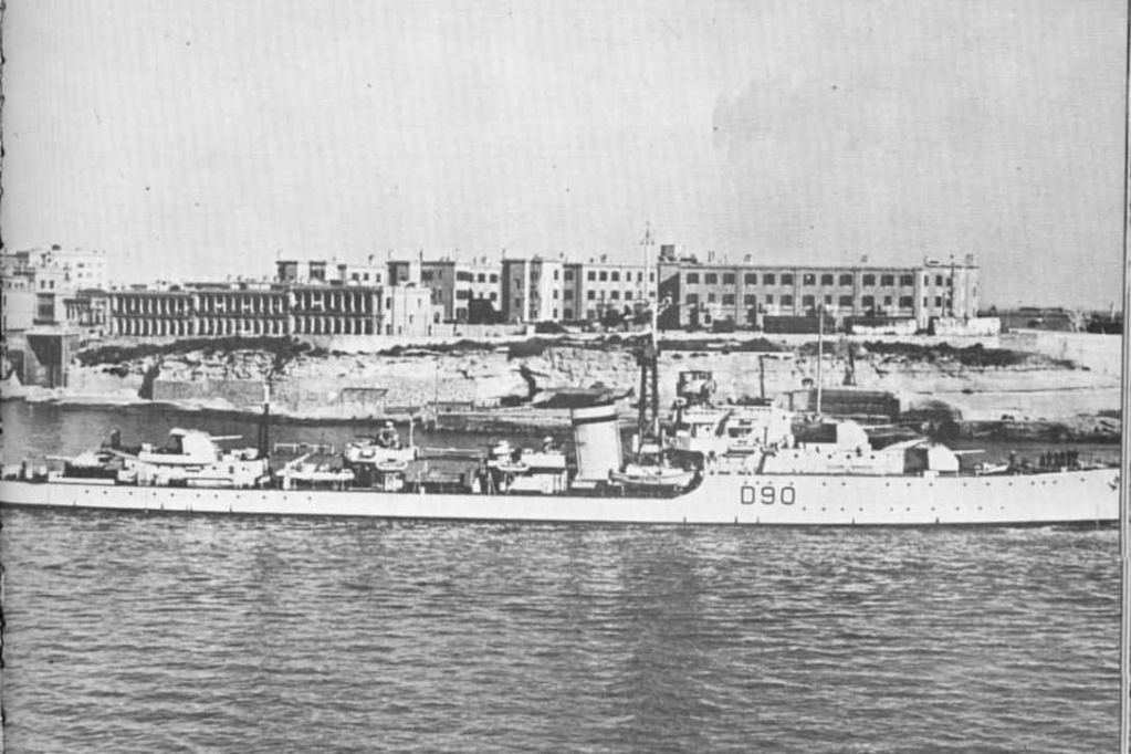 DESTROYER DE LA ROYAL NAVY : du CAESAR au DUCHESS Chevio10