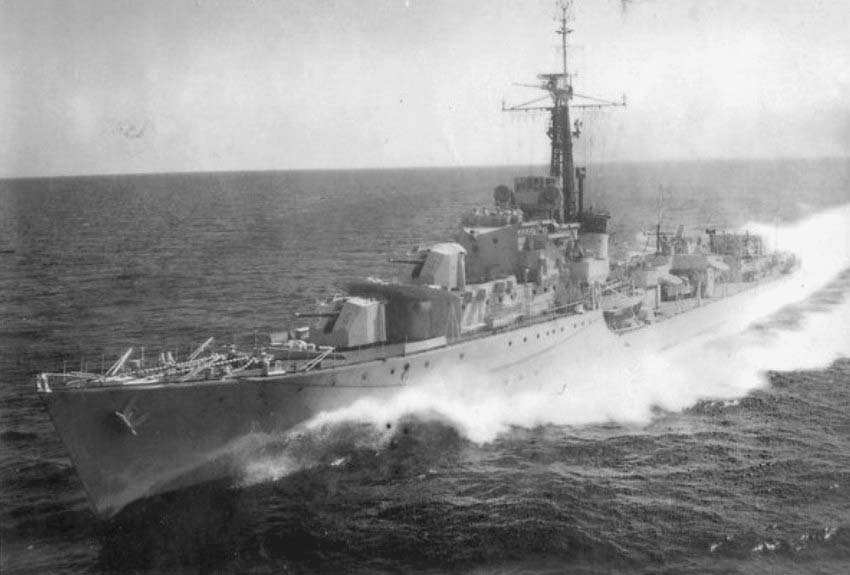 DESTROYER DE LA ROYAL NAVY : du CAESAR au DUCHESS Chevro11