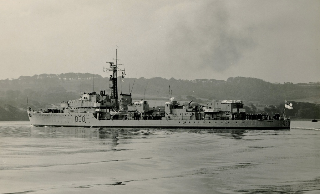 DESTROYER DE LA ROYAL NAVY : du CAESAR au DUCHESS Hms20c12