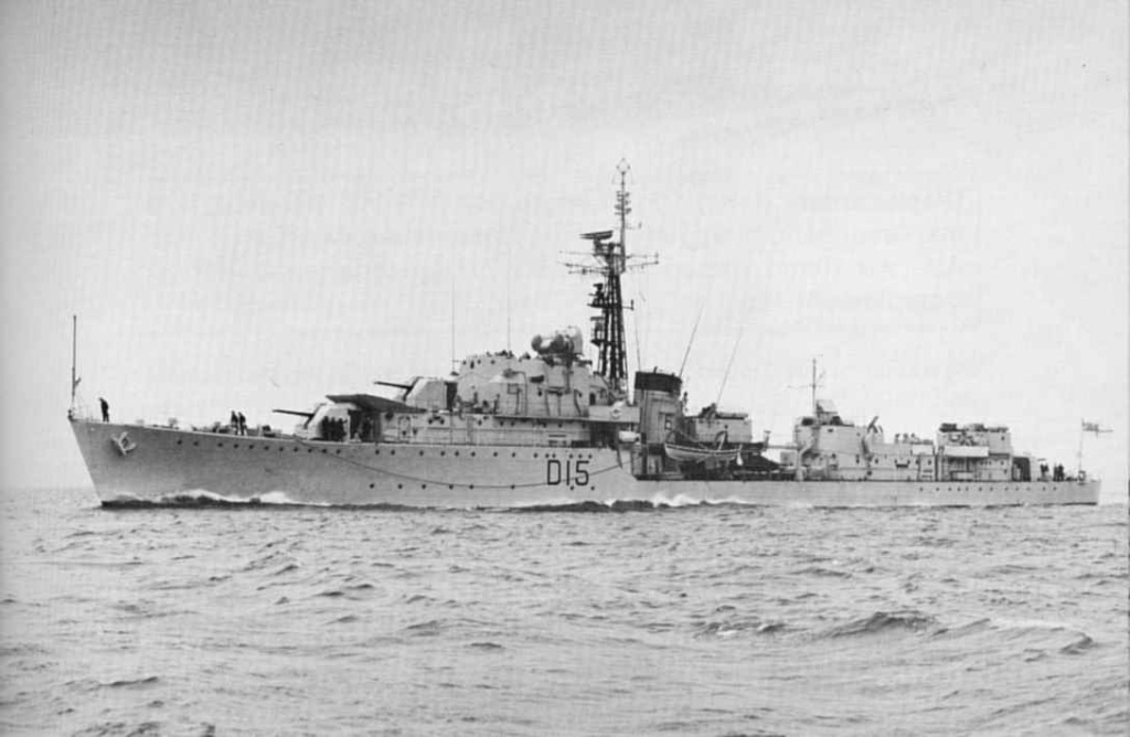 DESTROYER DE LA ROYAL NAVY : du CAESAR au DUCHESS Hms20c16