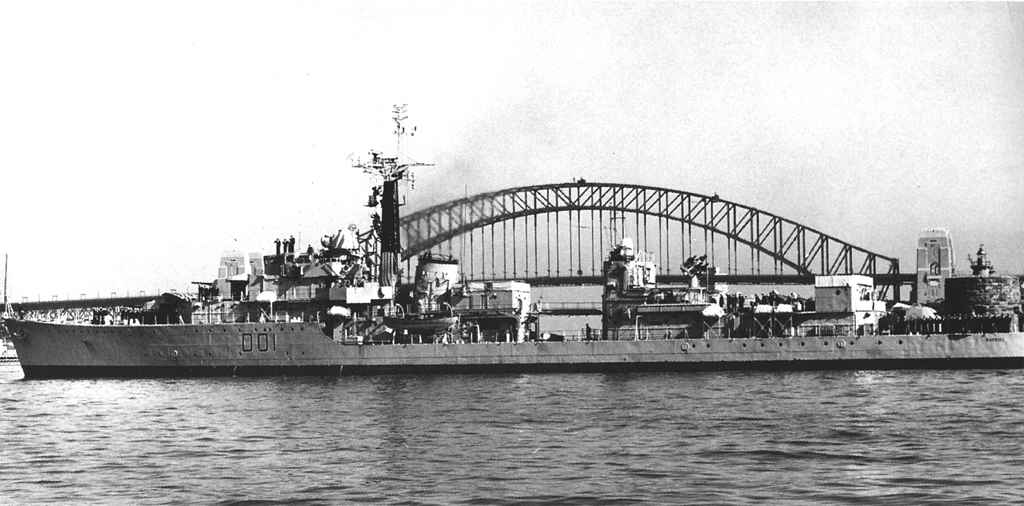 DESTROYER DE LA ROYAL NAVY : du CAESAR au DUCHESS Hms_ca10