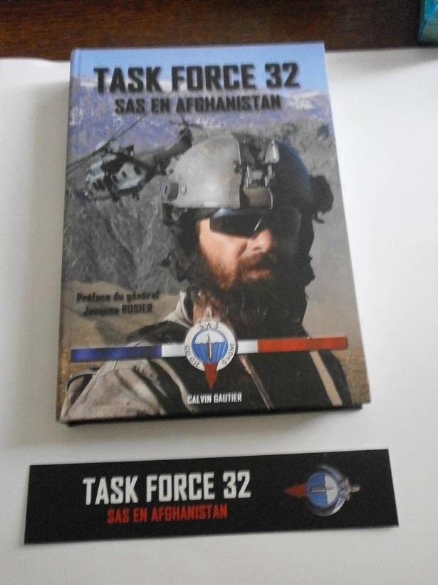 livre taskforce 32 SAS en afghanistan Lot_0215