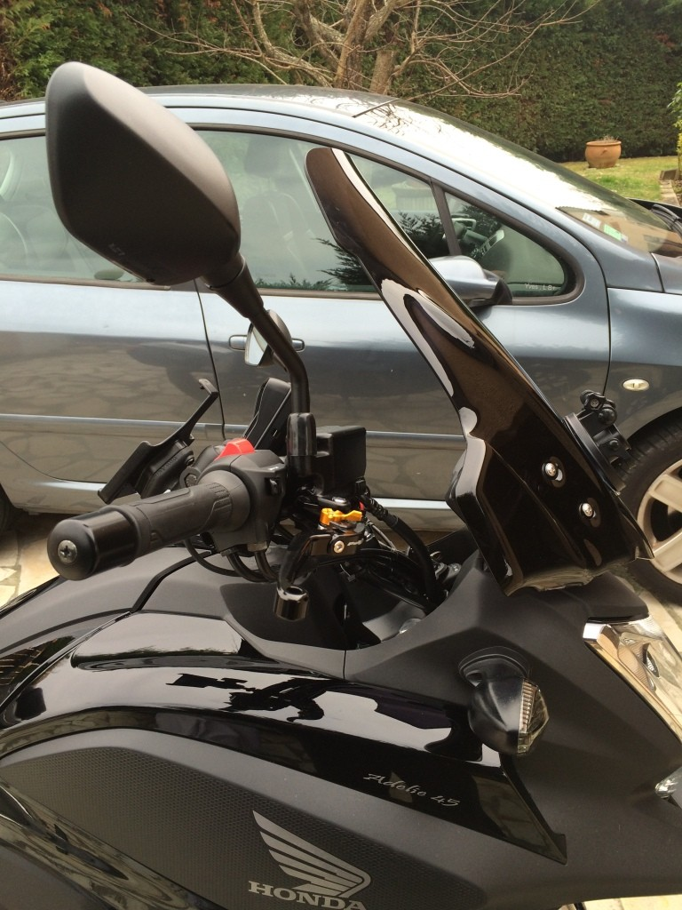 Equipement kit réglage bulle Honda NC750X Bulle_14