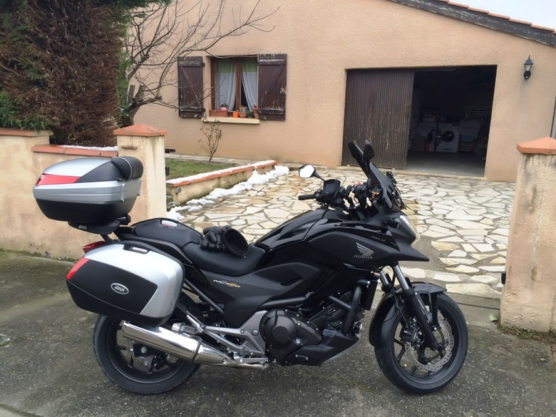 Test Equipements et sortie temps froid Honda NC 750 X Img_6213