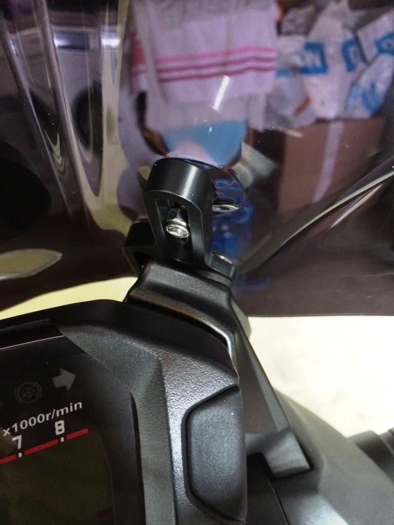 Equipement kit réglage bulle Honda NC750X Img_6226
