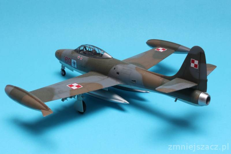 F-84G - WHAT IF - Polish Air Force - Hobby Boss 1/72 Img_4722