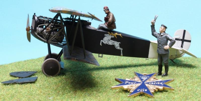 Fokker D.VII (Alb.) - Carl Degelow - 1/48 Roden - NOW WITH FIGURES Img_4727